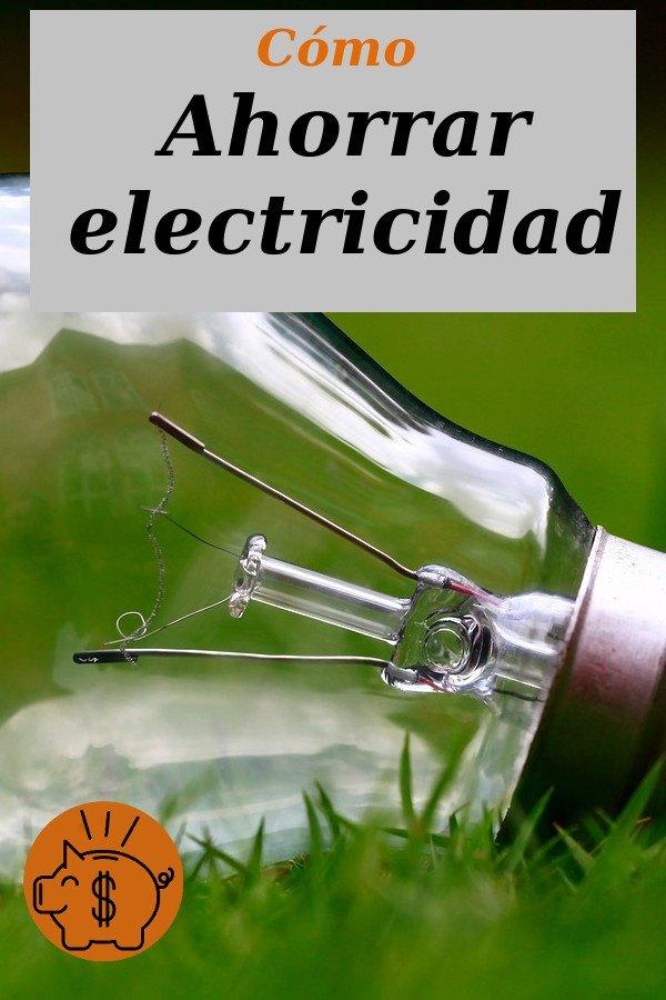 como ahorrar electricidad