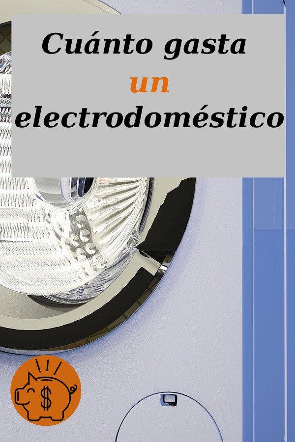 cuál es el consumo de un electrodoméstico