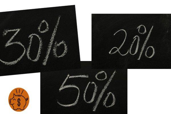 ahorrar dinero por metodo de ahorro 50-30-20
