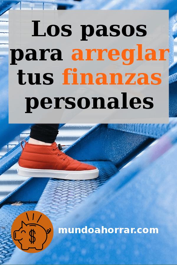 Arregla tus finanzas persoanles